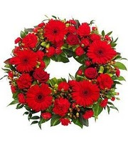 Red Wreath.